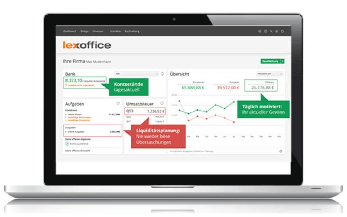 lexoffice - Rechnungsprogramm & Buchhaltung Online Software von ...