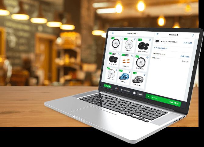 lexoffice Commerce Kassensoftware mit automatischer Buchhaltung
