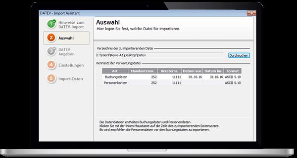 Lexware Datenexport