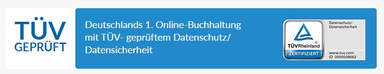 lexoffice ist TÜV zertifiziert