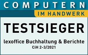 lexoffice ist Testsieger bei Computern im Handwerk