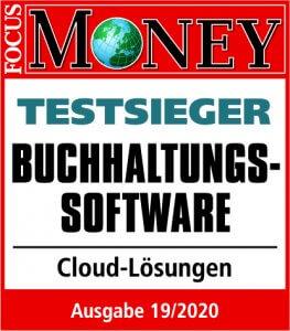 lexoffice ist Testsieger bei Focus Money Ausgabe 19/2020